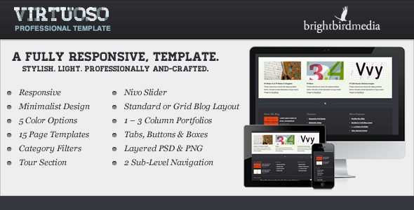 ThemeForest Virtuoso 3149750