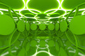 Abstract green sphere wall - PhotoDune Item for Sale