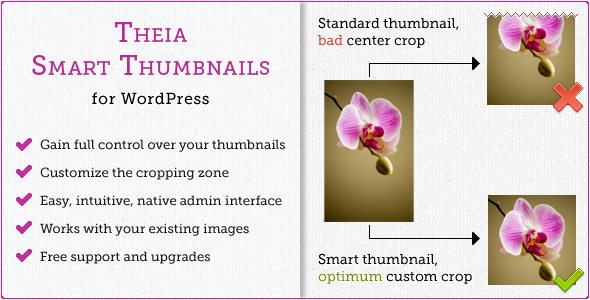 Theia Smart Thumbnails for WordPress - CodeCanyon Item for Sale