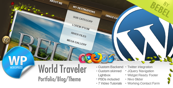 World Traveler - Best Travel WordPress Theme