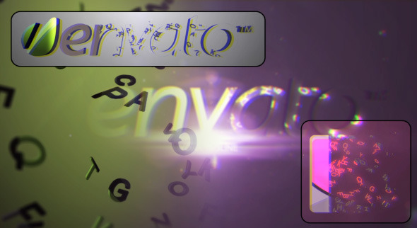 VideoHive 3D Letters Revel 3160983