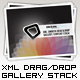 AS3 XML Smooth Drag & Drop Gallery Stack Template - ActiveDen Item for Sale