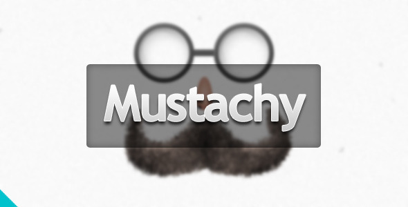 ThemeForest Mustachy Coming Soon 3090011