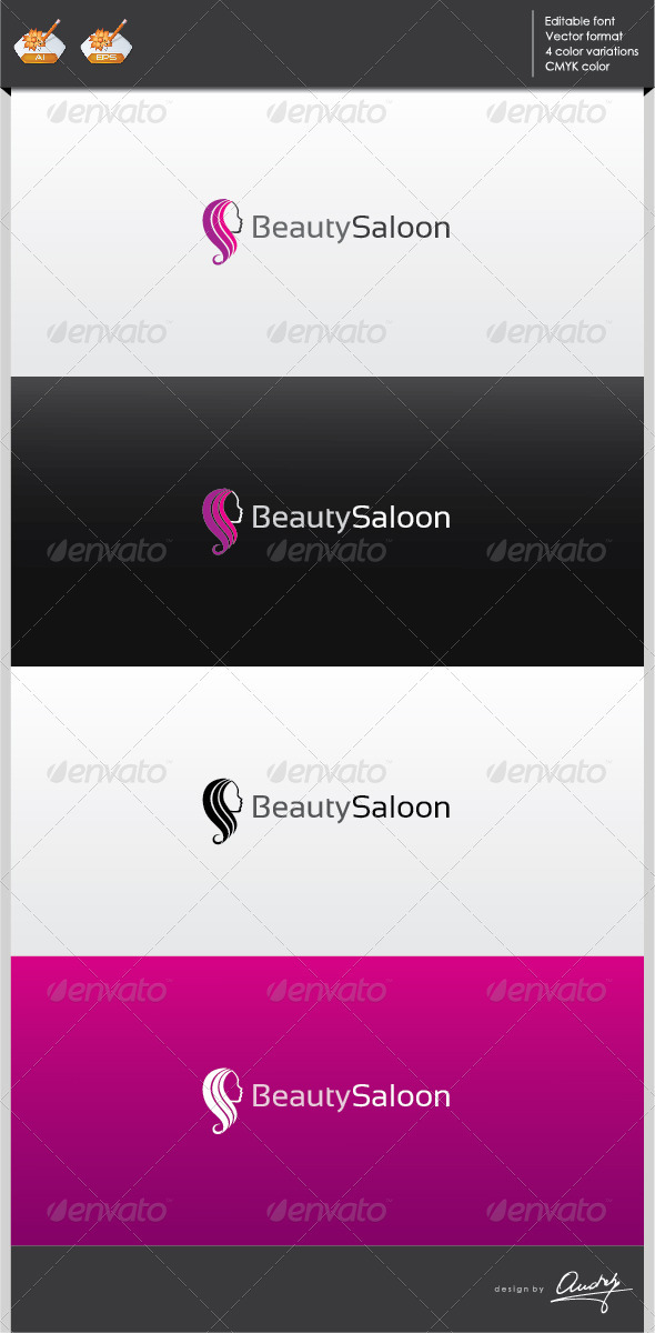 GraphicRiver Beauty Saloon Logo Template 3129263