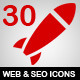 30 Web and SEO Icons - GraphicRiver Item for Sale