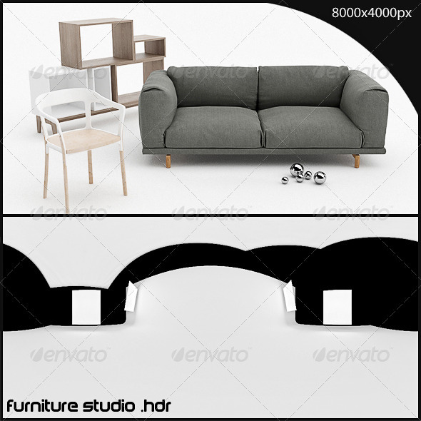 furniture studio HDR