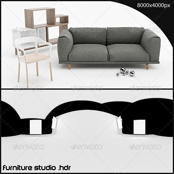 3DOcean furniture studio HDR 3162268