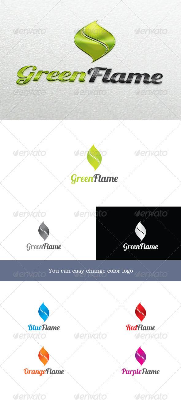GreenFlame Logo