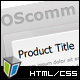 OScomm E-commerce Template - ThemeForest Item for Sale