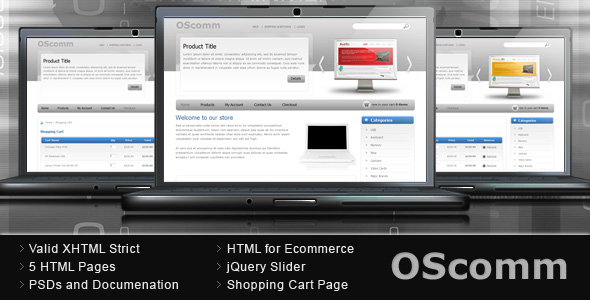 OScomm E-commerce Template