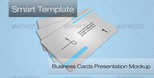 GraphicRiver BUsiness Card Mockup 111730