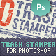 2D Trash Stamper - Photoshop Smart Objects - GraphicRiver Item for Sale