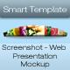 Screenshot - Web Presentation Mockup