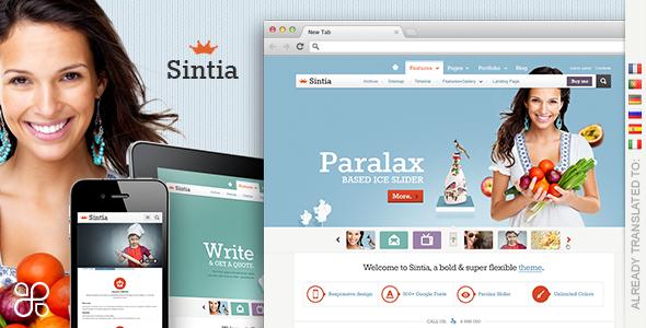 Sintia Responsive for Business Portfolio