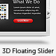3D Floating Web Slider - GraphicRiver Item for Sale