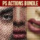 Creative Photoshop Actions Bundle - GraphicRiver Item for Sale