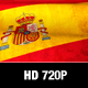 Spain Flag Motion Loop - VideoHive Item for Sale