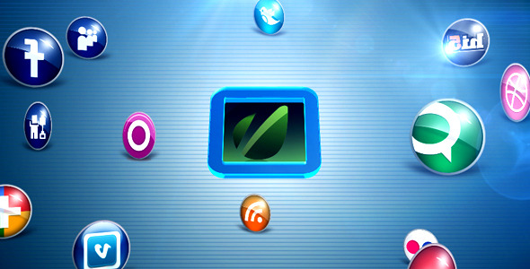 VideoHive The Social Media Network 3147070