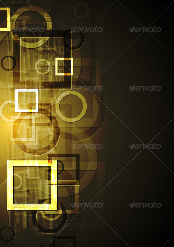 Abstract geometrical design Vector background