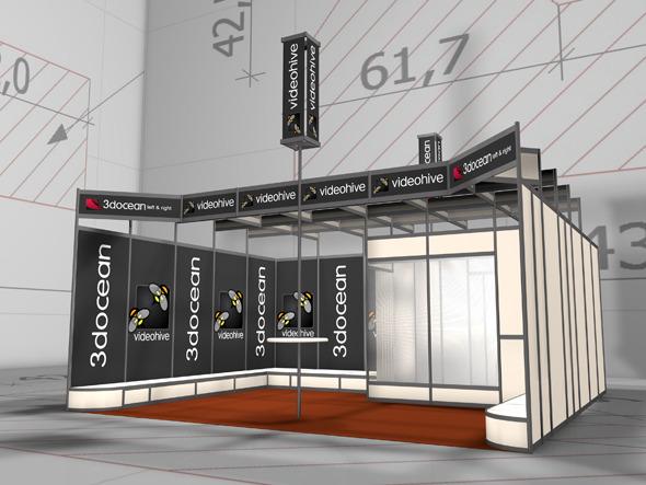 3DOcean Amaizing Exhibition Pavilion 2 3165557