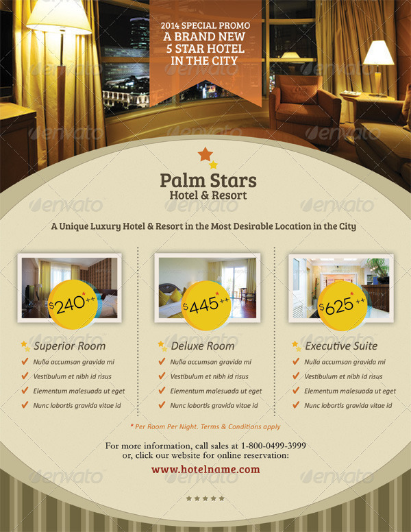 Hotel promotion flyer vol 01 by kinzi21 graphicriver