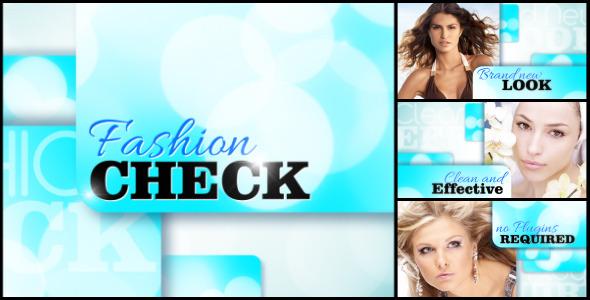 VideoHive Fashion Check Slide Show 3166980