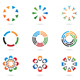 Colourful Abstract Icons and Design Elements - GraphicRiver Item for Sale
