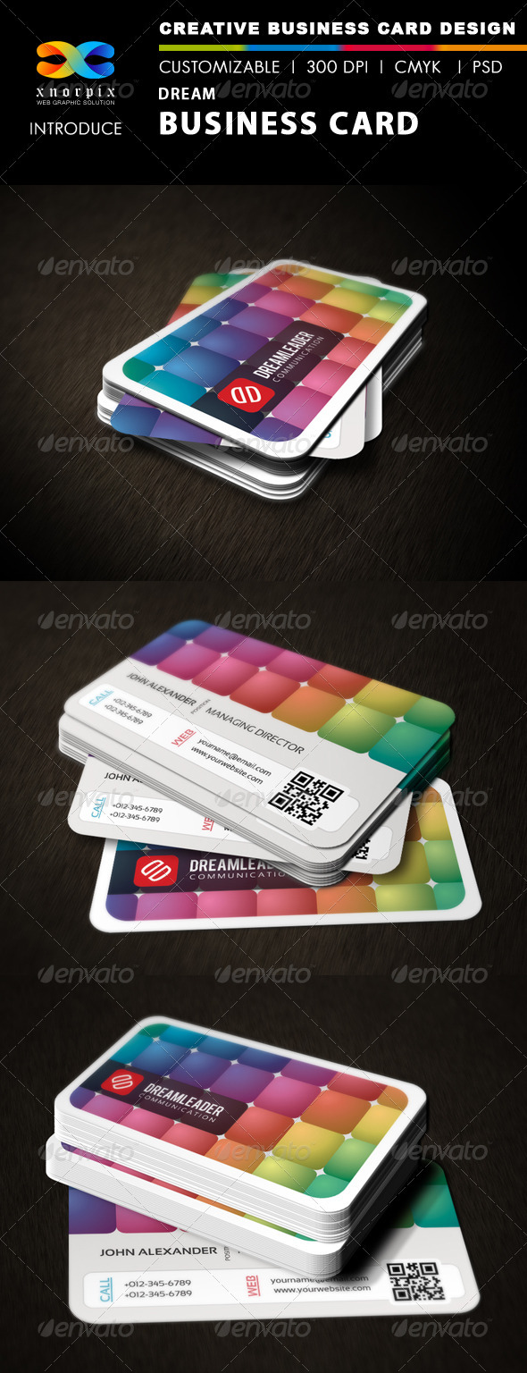 Dream Business Card - Creative Business Cards
