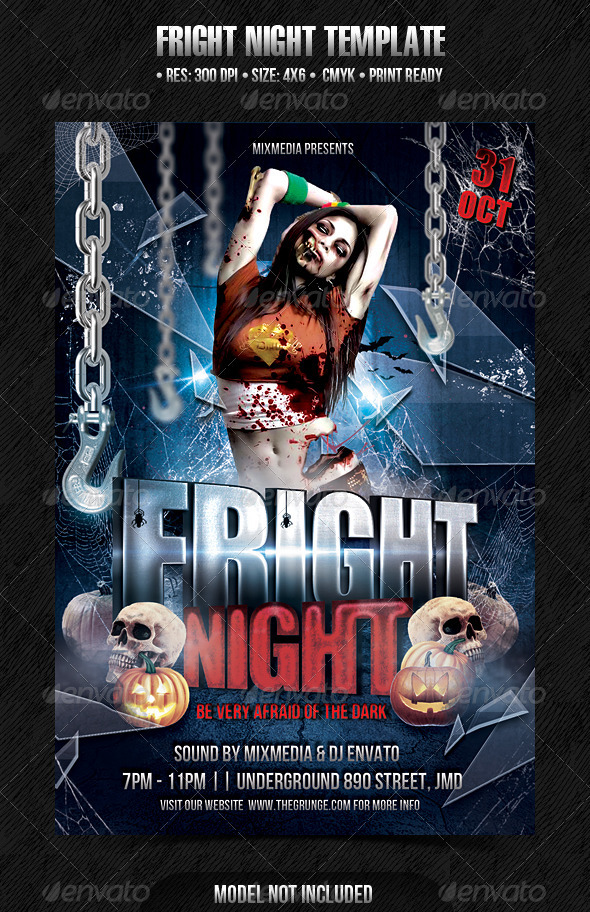 Fright Night Template