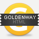 Goldenway - Premium Responsive HTML5 Template - ThemeForest Item for Sale