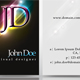 Elegant Dark Business Card #3 - GraphicRiver Item for Sale