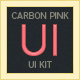 Carbon Watermelon UI Kit - GraphicRiver Item for Sale