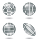 Metal Ball Icons - GraphicRiver Item for Sale