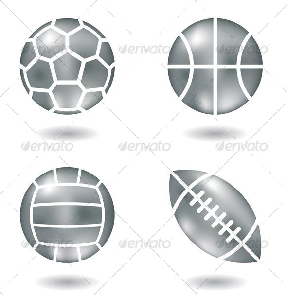 GraphicRiver Metal Ball Icons 111948