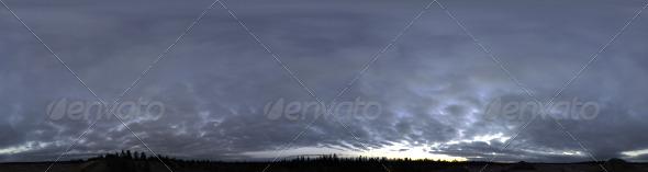 3DOcean Skydome HDRI I Dusk Clouds 3170598