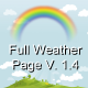 Full Weather Page V1.0 - CodeCanyon Item for Sale