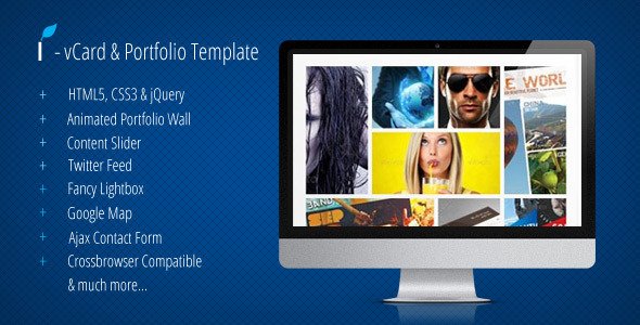 ThemeForest I vCard & Portfolio Template 2988643