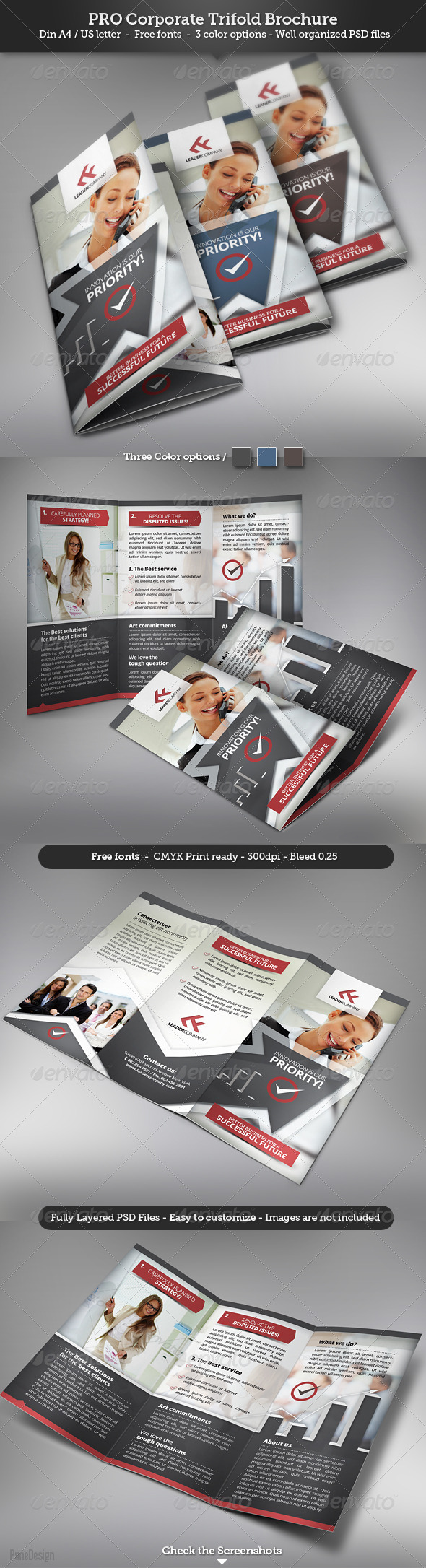 GraphicRiver Corporate Trifold Brochure 3170948