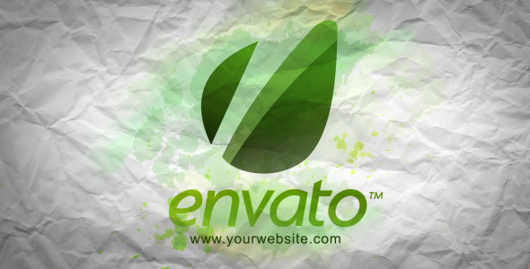 VideoHive Ink Logo Experiment 3170971