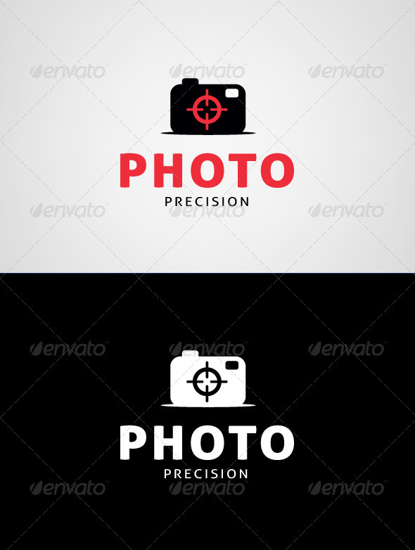 Photo Precision Logo Template