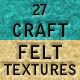 27 Craft Felt Textures - GraphicRiver Item for Sale