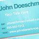 Smooth Texture Letterpress Business Card - GraphicRiver Item for Sale