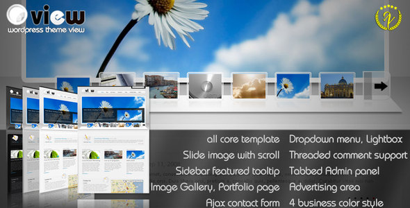 Business & portfolio Wordpress Themes View - Corporate WordPress