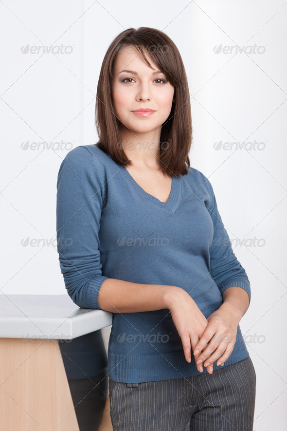Female manager portrait - Stock Photo - Images