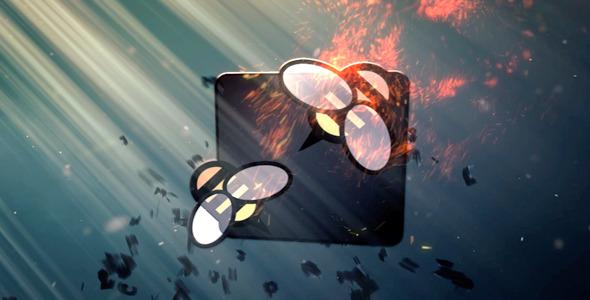 VideoHive Fiery logo 3117870