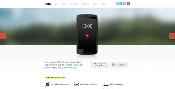 ThemeForest Solo 3164983