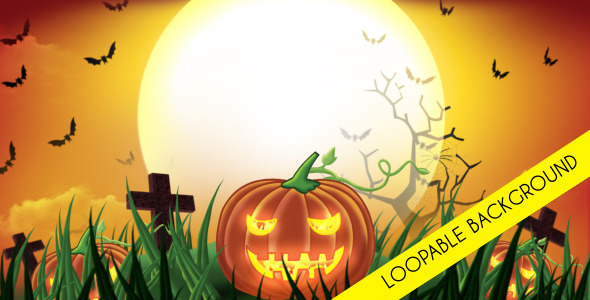 Halloween Day Loopable Background