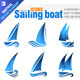 Sailing boat - GraphicRiver Item for Sale
