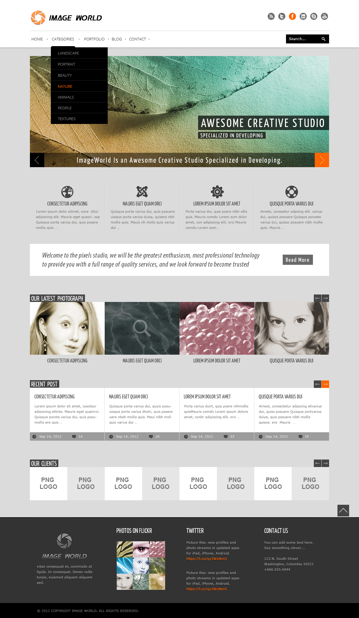ImageWorld - PSD Templates
