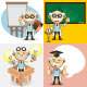 Professor Characters - GraphicRiver Item for Sale